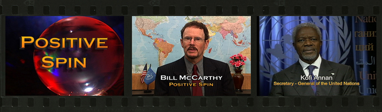 Bill McCarthy, Host of Positive Spin