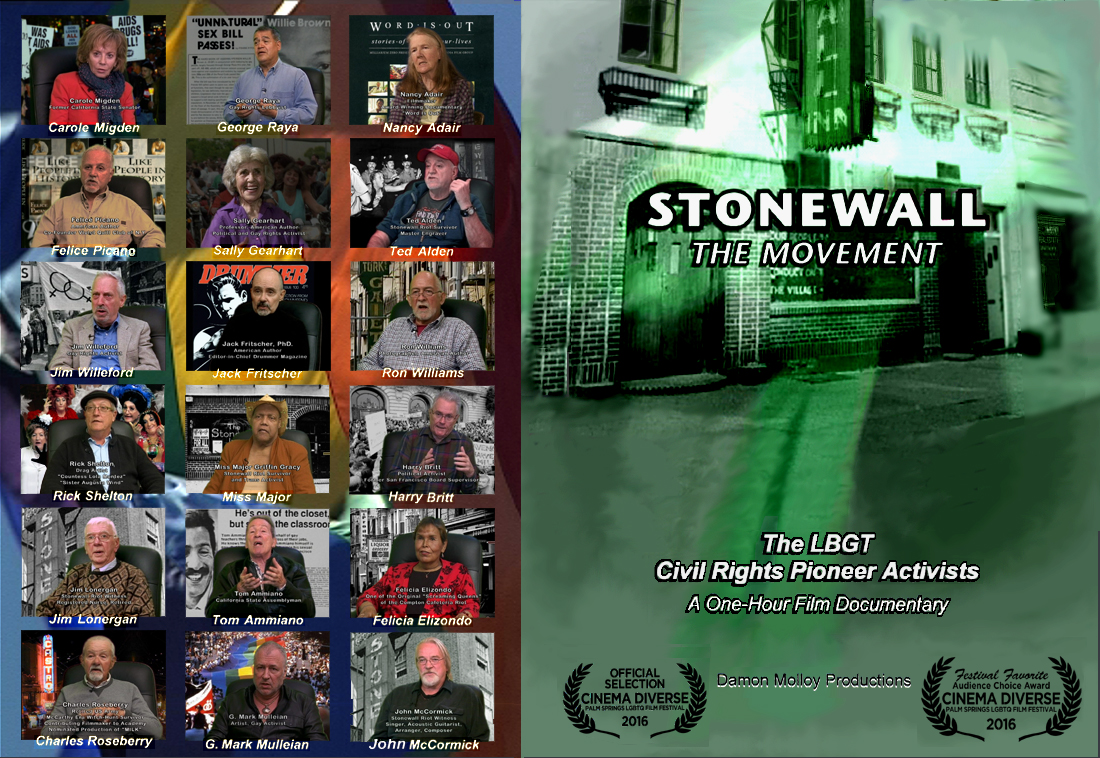 Stonewall: The Movement, originated, produced, and directed by Artist G. Mark Mulleian.